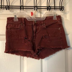 Rusty Red Bullhead Shorts